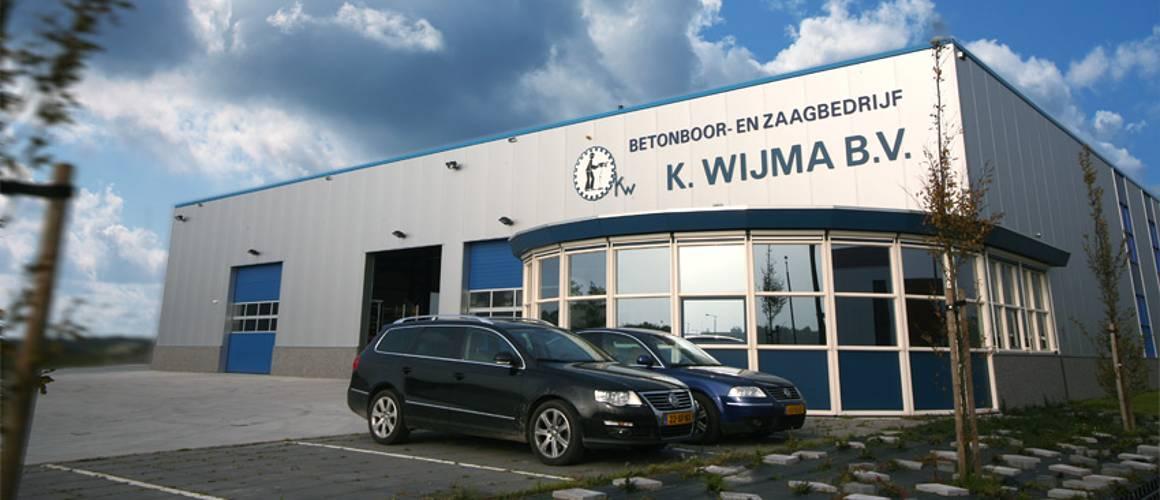 Bedrijfspand wijma betonboringen drachten - Betonboringen- en Zaagbedrijf K. Wijma BV