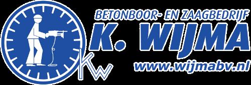 Logo Betonboringen- en Zaagbedrijf K. Wijma BV